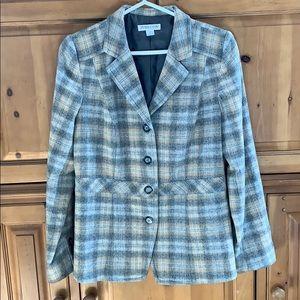 Pendleton lined wool blazer